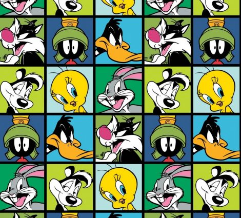 Looney Tunes designer quilt cotton for patchwork
