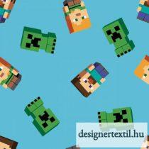 Minecraft Friends pamutvászon
