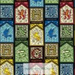Harry Potter Stained Glass quilt cotton by Camelot Fabric