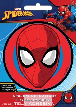 Pókember felvasalható matrica (Ad-Fab)