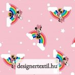 Szivárványos Minnie - pamutvászon (Disney Rainbow Minnie)