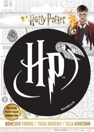 Harry Potter logó felvasalható matrica (Ad-Fab)