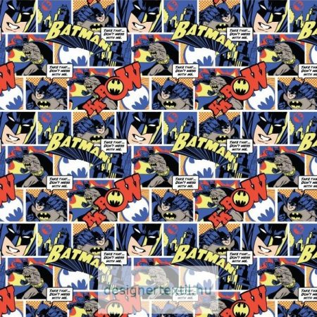 Batman Pop Comics quilt cotton by Camelot Fabric