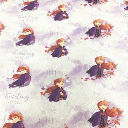 Disney Frozen 2-  Anna Watercolour Fabric