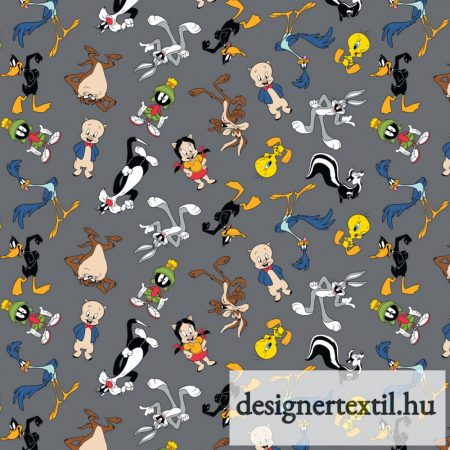 Looney Tunes Characters in blocks quilt cotton by Camelot Fabric