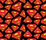 Superman logo flanel méteráru - (Superman Tossed Logo)