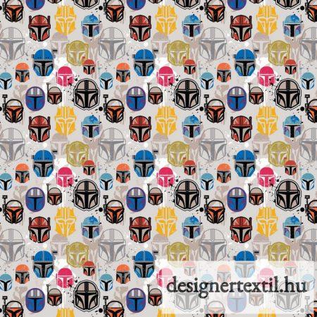 Star Wars Mandalorian Helmets by Camelot Fabric
