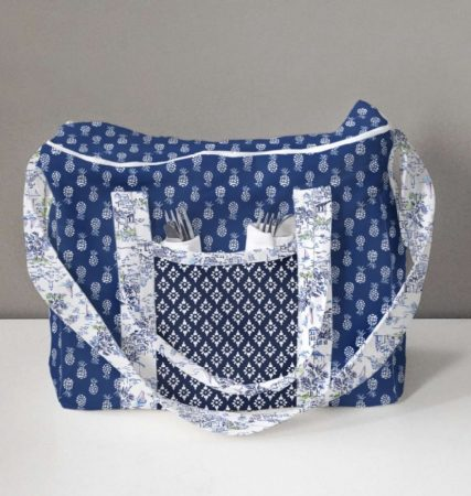 Lunch hamper for two pattern free