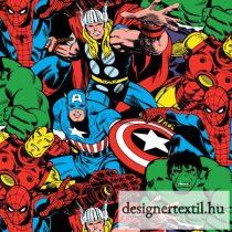 Marvel szuperhősök pamutvászon (Marvel Comic Pack)