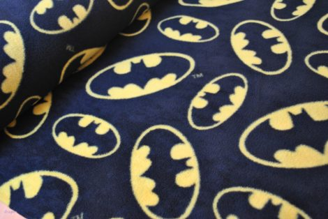 Batman Tossed Logo Fleece by meter