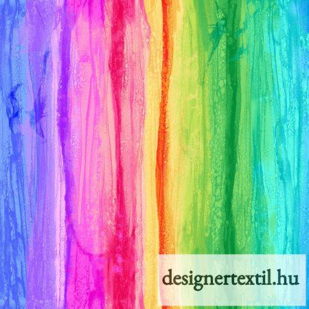 Szivárvány pamutvászon (Rainbow Dream Stripe - Timeless Treasures)