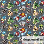 Mini Marvel Hősök pamutvászon (Mini Action Heros)