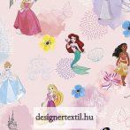 Hercegnős pamutvászon (Disney Pink Princess)