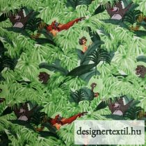 Disney Jungle Book Baloo and Mowgli Green Cotton