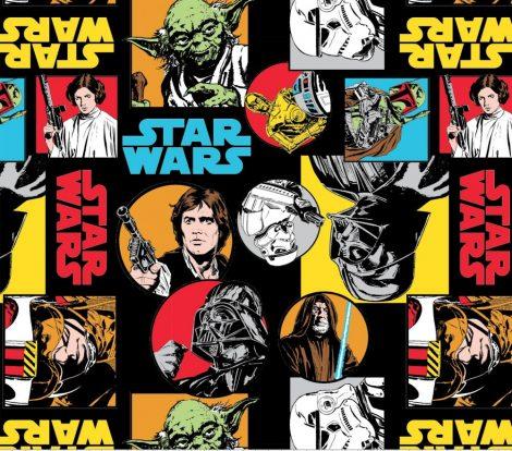 Star Wars flanel méteráru - (Cartoon Characters)