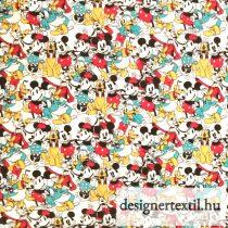 Disney Mickey és barátai pamutvászon (Disney Mickey & Friends Sensational 6 Snapshot)
