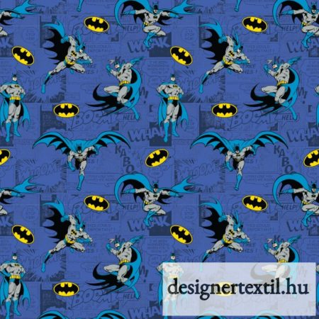 Batman Rope quilt cotton by Camelot Fabric