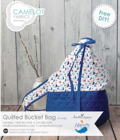 Bucket bag (batyutáska) szabásminta - Ingyenes