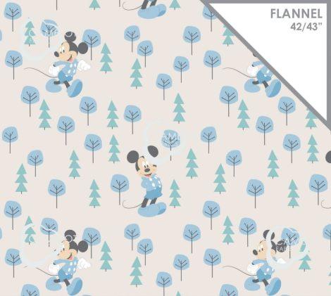 Disney flannel - Mickey in the Meadow in Blue